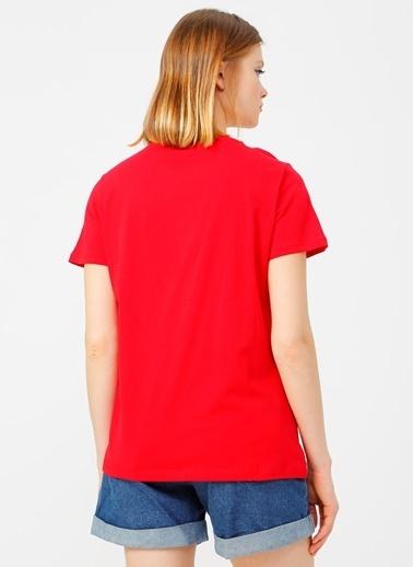 Limon Company Limon Kırmızı Kadın T-Shirt Kırmızı
